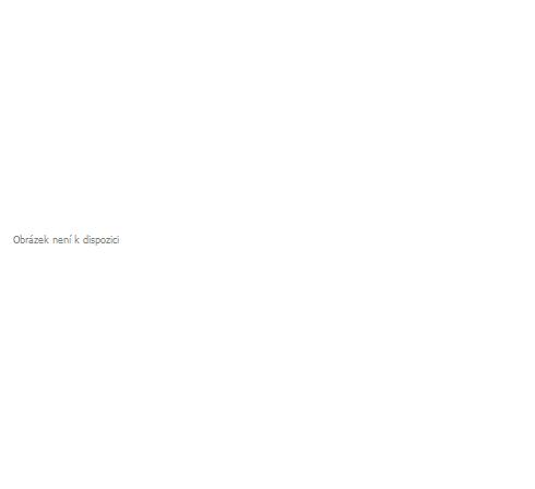 Hotová oblouková záclona žakarového typu
