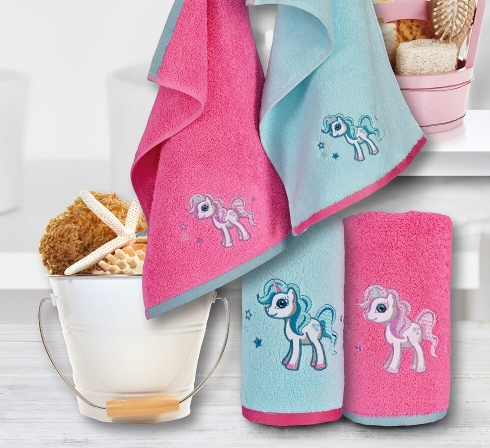 Kolekce dětských ručníků s originální výšivkou